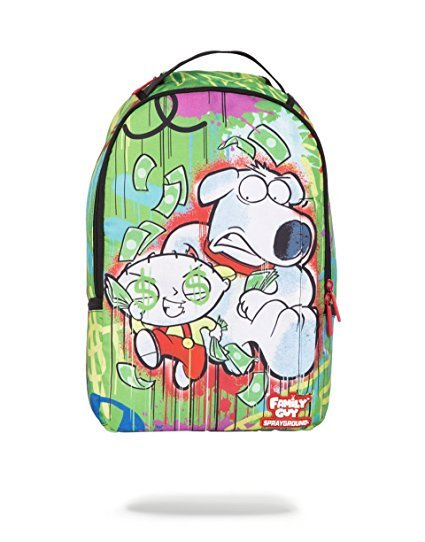 Sprayground Family Guy Brian & Stewie On The Run