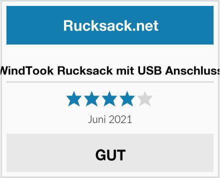 WindTook Rucksack mit USB Anschluss Test