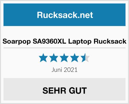 Soarpop SA9360XL Laptop Rucksack Test