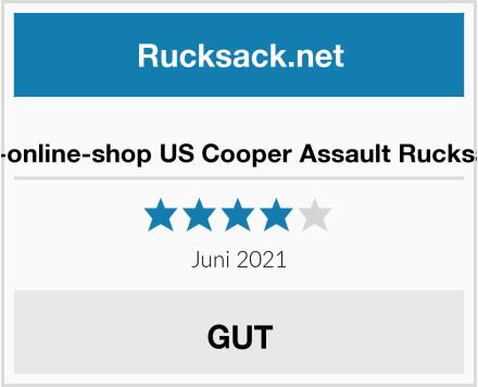 bw-online-shop US Cooper Assault Rucksack Test