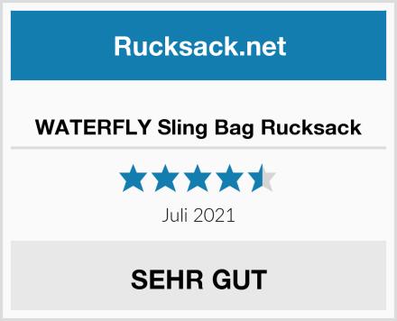 WATERFLY Sling Bag Rucksack Test