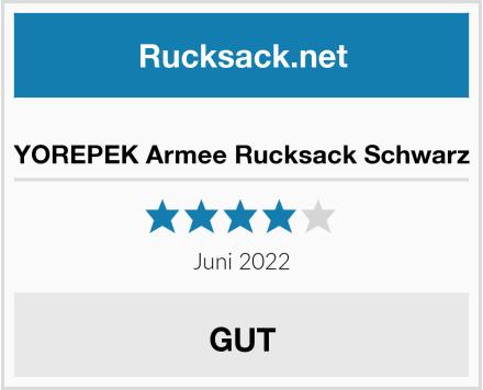 YOREPEK Armee Rucksack Test