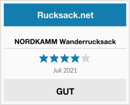 NORDKAMM Wanderrucksack Test