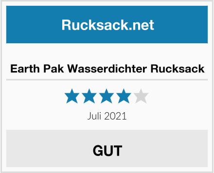 Earth Pak Wasserdichter Rucksack Test