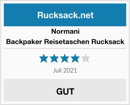 Normani Backpaker Reisetaschen Rucksack Test