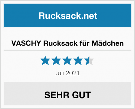 VASCHY Rucksack für Mädchen Test