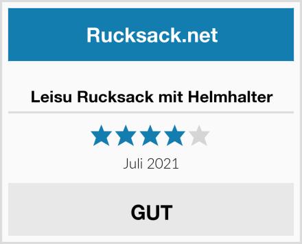 Leisu Rucksack mit Helmhalter Test