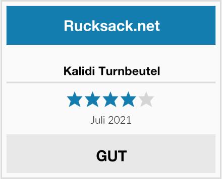 Kalidi Turnbeutel Test