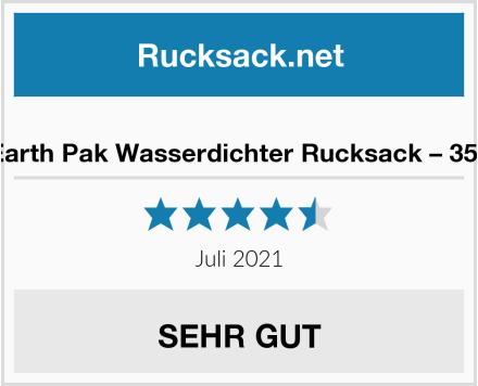 Earth Pak Wasserdichter Rucksack – 35L Test