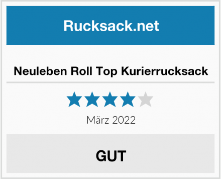 Neuleben Roll Top Kurierrucksack Test