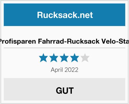 Profisparen Fahrrad-Rucksack Velo-Star Test