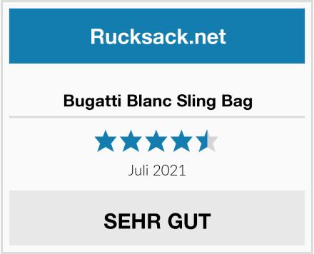 Bugatti Blanc Sling Bag Test