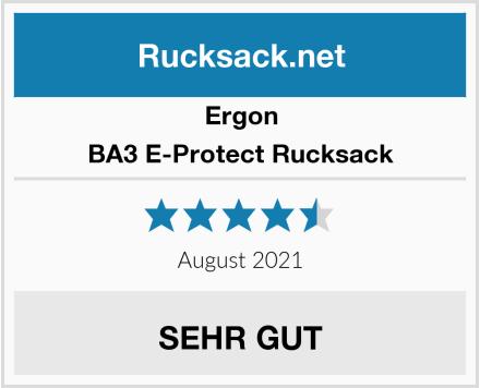 Ergon BA3 E-Protect Rucksack Test
