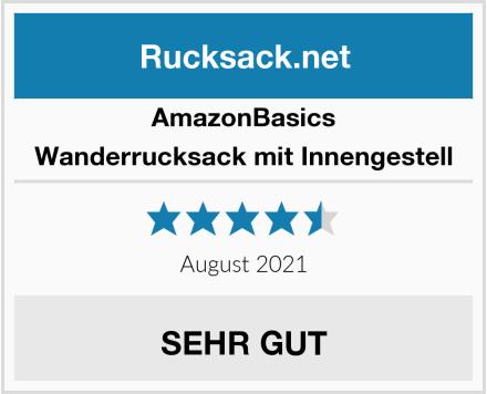 AmazonBasics Wanderrucksack mit Innengestell Test
