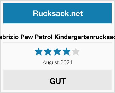 Fabrizio Paw Patrol Kindergartenrucksack Test