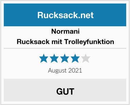 Normani Rucksack mit Trolleyfunktion Test