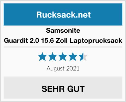 Samsonite Guardit 2.0 15.6 Zoll Laptoprucksack Test