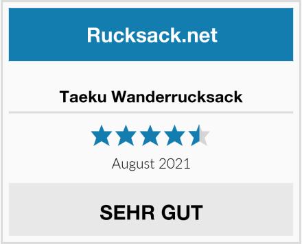 Taeku Wanderrucksack Test