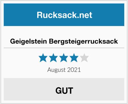 Geigelstein Bergsteigerrucksack Test