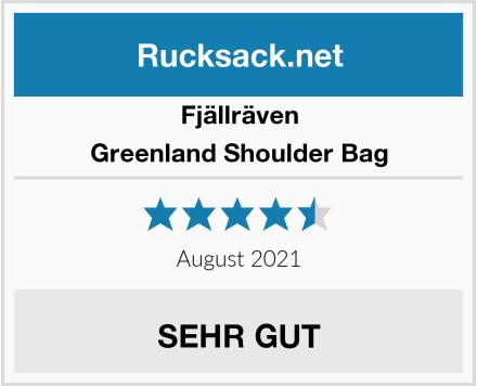 Fjällräven Greenland Shoulder Bag Test