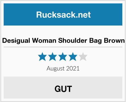 Desigual Woman Shoulder Bag Brown Test
