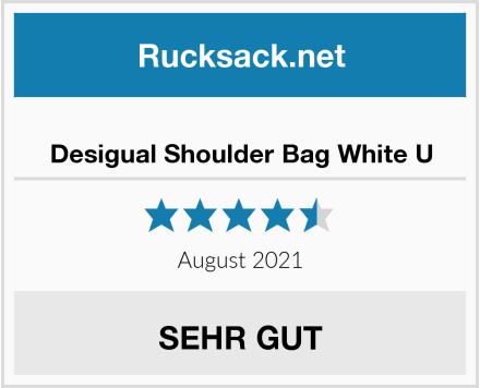 Desigual Shoulder Bag White U Test