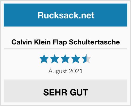Calvin Klein Flap Schultertasche Test
