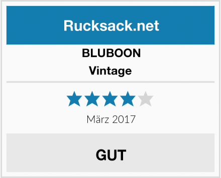 BLUBOON Vintage Test