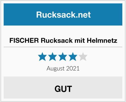 FISCHER Rucksack mit Helmnetz Test