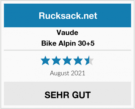 Vaude Bike Alpin 30+5 Test