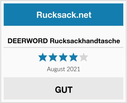 DEERWORD Rucksackhandtasche Test