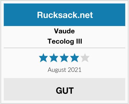 Vaude Tecolog III Test