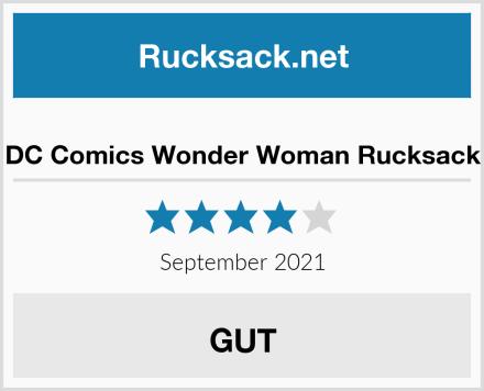DC Comics Wonder Woman Rucksack Test
