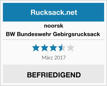 noorsk BW Bundeswehr Gebirgsrucksack  Test