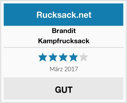 Brandit Kampfrucksack Test