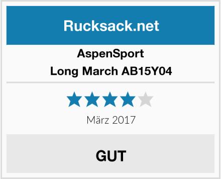 AspenSport Long March AB15Y04 Test