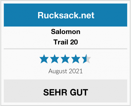 Salomon Trail 20 Test