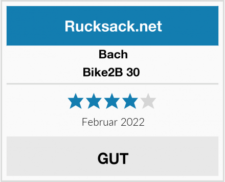Bach Bike2B 30  Test
