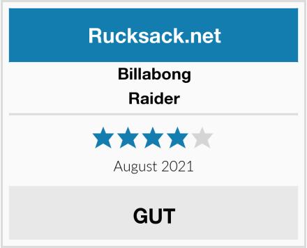 Billabong Raider Test