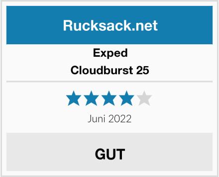 Exped Cloudburst 25 Test