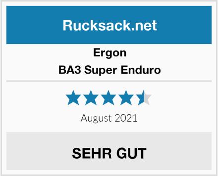 Ergon BA3 Super Enduro Test