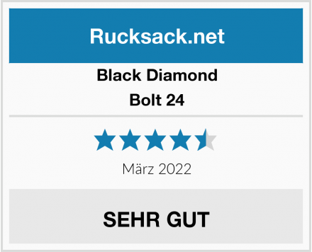Black Diamond Bolt 24 Test
