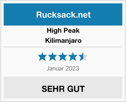 High Peak Kilimanjaro Test