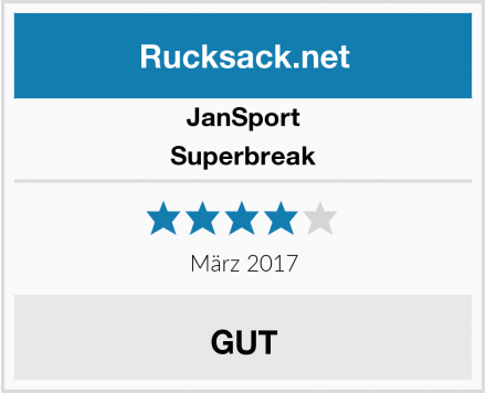 JanSport Superbreak Test