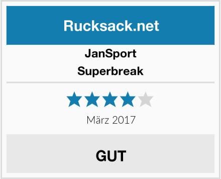 JanSport Superbreak Test