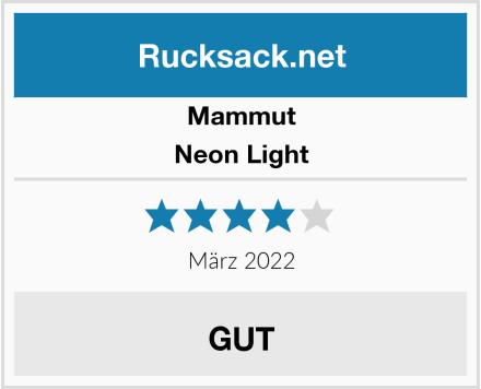 Mammut Neon Light Test