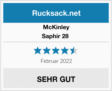 McKinley Saphir 28  Test