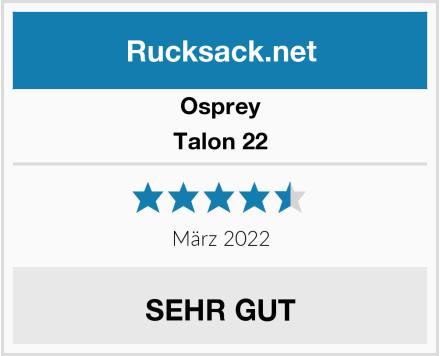 Osprey Talon 22 Test