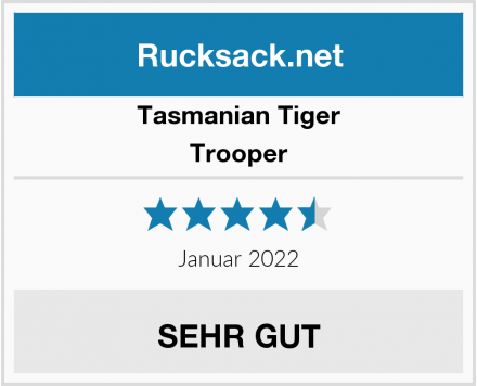 Tasmanian Tiger Trooper Test