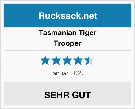 Tasmanian Tiger Trooper Test